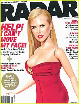 Nicole Kidman Can't Move Her Face
