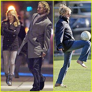 Owen Wilson is a Soccer Star