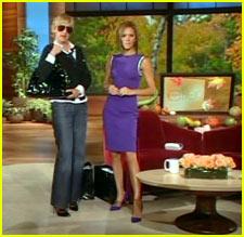 Posh @ The Ellen Show