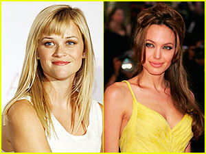 Reese, Angelina Lead List of Highest-Paid Actresses