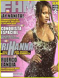 Rihanna is Wet