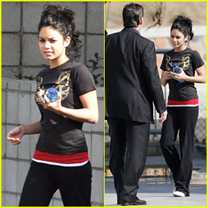 Vanessa Hudgens is a Fitness Buff