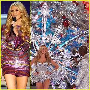 Heidi and Seal Sing @ the Victoria's Secret Show
