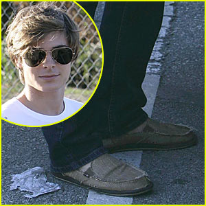 Zac Efron Needs New Shoes