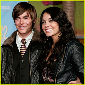 Zanessa @ 'High School Musical 2' DVD Release
