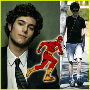 Adam Brody is The Flash