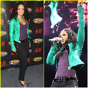 Alicia Keys @ Z100's Jingle Ball
