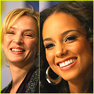 Alicia Keys and Uma Thurman are Nobel
