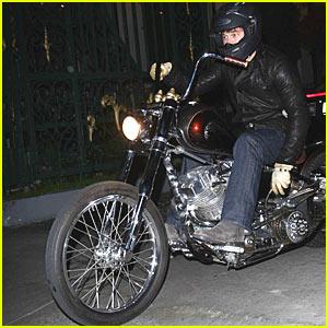 Brad Pitt is the Bodacious Biker