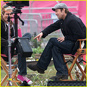 Brad Pitt Kicks It With John Norris