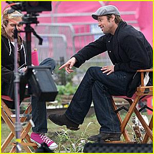 Brad Pitt Kicks It With John Norris
