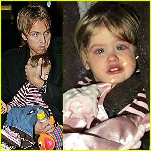 Dannielynn Birkhead is Not a Happy Baby