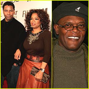 Denzel Washington and Oprah Winfrey are Great Debaters
