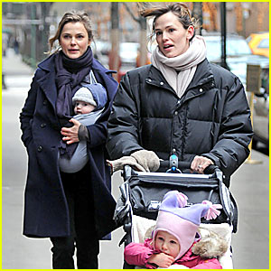 Jennifer Garner & Keri Russell's Mommy Playdate