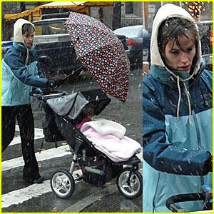 Jennifer Garner in a Winter Wonderland