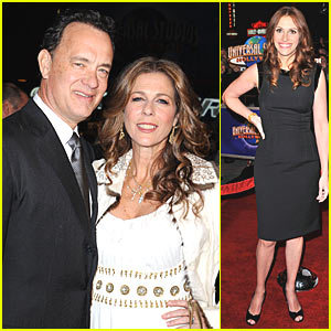 Julia Roberts and Tom Hanks Go to War