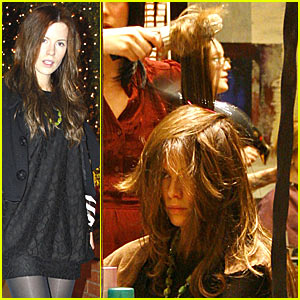 Kate Beckinsale's Make-Over Day