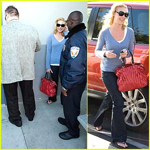 Katherine Heigl is a VIP at DMV