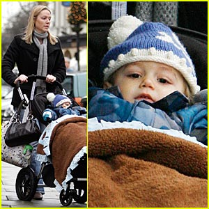 Kingston Rossdale is a New Year's Baby