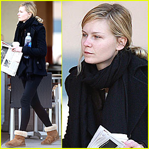 Kirsten Dunst Loves The New York Times
