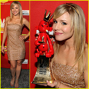Kristen Bell @ Video Game Awards 2007