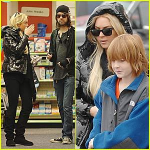 Lindsay Lohan's Sister-Brother Bonding