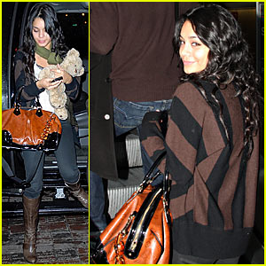 Vanessa Hudgens' Christmas in Washington