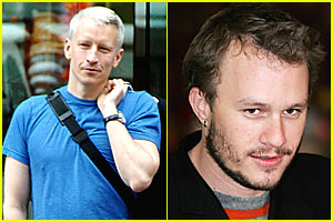 Anderson Cooper Says No to Heath Ledger Coverage