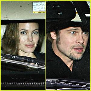 Angelina Jolie and Brad Pitt: Date Night