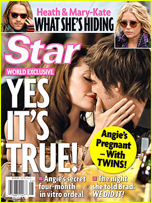 Brad and Angelina are Stars