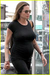 Angelina Jolie: TWINS?