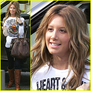 Ashley Tisdale is a Coffee Bean Queen