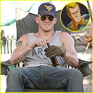 Channing Tatum Joins 'GI Joe' Movie