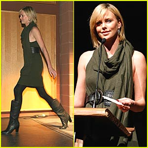 Charlize Theron is Sleepwalking