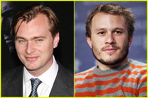 Christopher Nolan's Heath Ledger Tribute