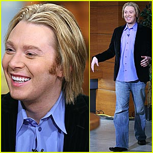 Clay Aiken's Blond Moment