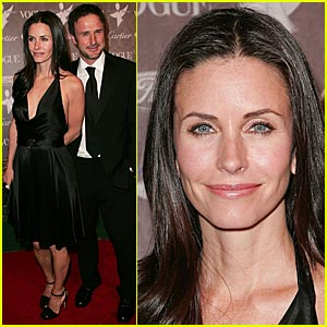 Courteney Cox Supports The Art of Elyisum