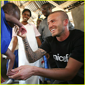 David Beckham for UNICEF