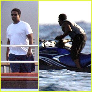 Denzel Washington: Leaving on a Jet Ski