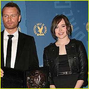 Ellen Page @ 2008 DGA Awards