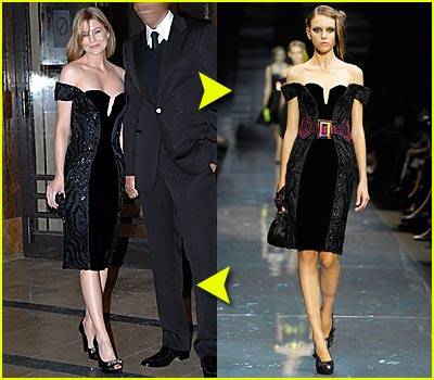 Fashion Faceoff: Armani Privé Dress