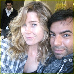 Ellen Pompeo has a New 'Do