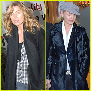 Ellen Pompeo and Katherine Heigl are a Pastis Pair
