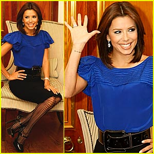 Eva Longoria: Over Her Dead Body!