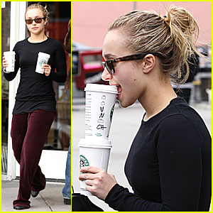 Hayden Panettiere: Drinks For Two