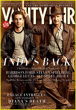 Indiana Jones Takes Vanity Fair