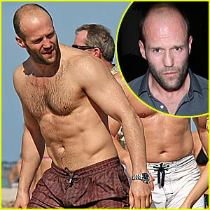 Jason Statham is Shirtless