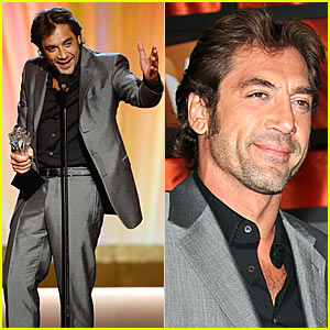 Javier Bardem @ Critics Choice Awards 2008