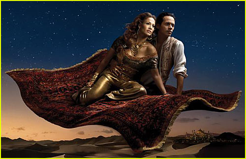 Jennifer Lopez is Princess Jasmine