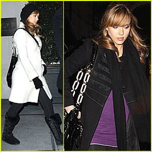 Jessica Alba Films 'The Martha Stewart Show'
